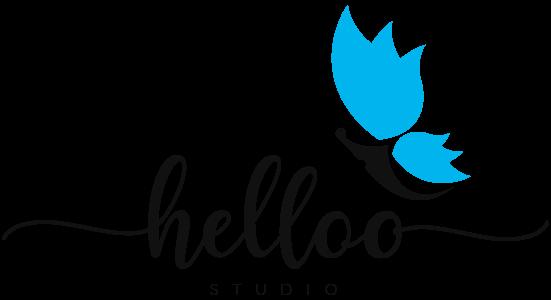 Helloo studio logotip
